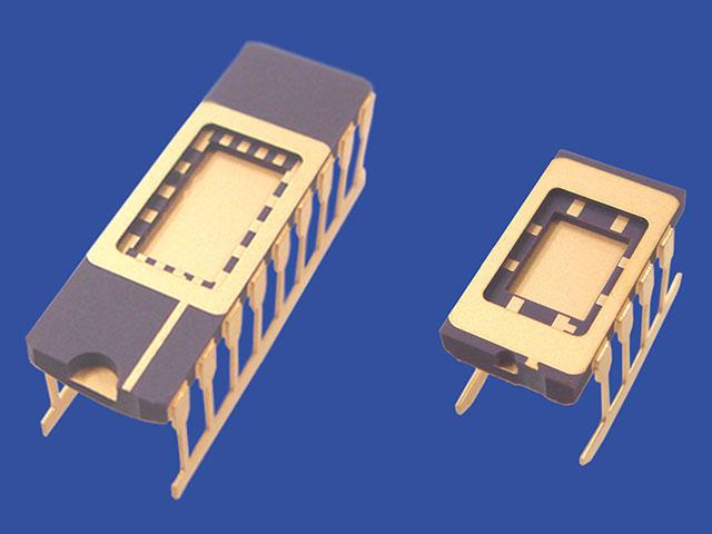 デバイス評価用標準パッケージとリッド セラミックパッケージ 京セラ